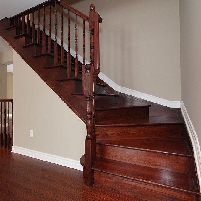 Ottawa quality custom stairs flooring hardwood builders for Hardwood floors on stairs